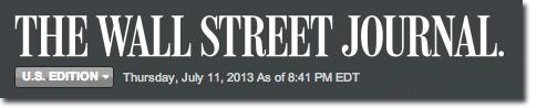 Wall Street Journal -2